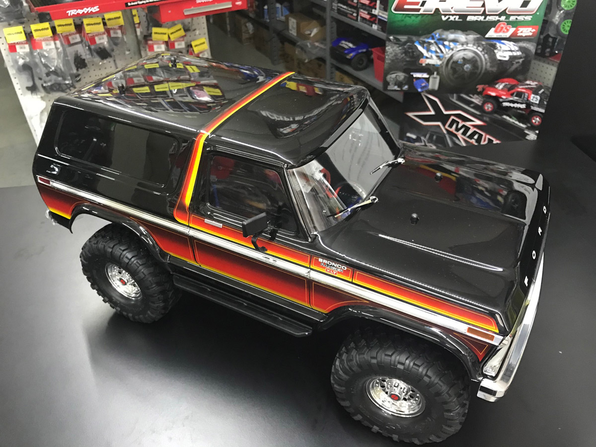 Traxxas Ford Bronco TRX Sunset