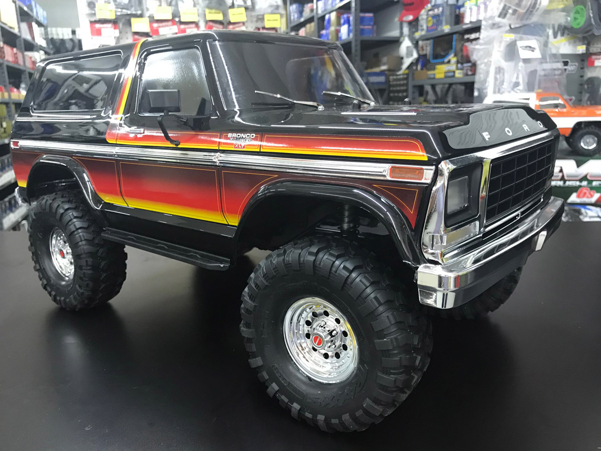 Traxxas Ford Bronco TRX Sunset4