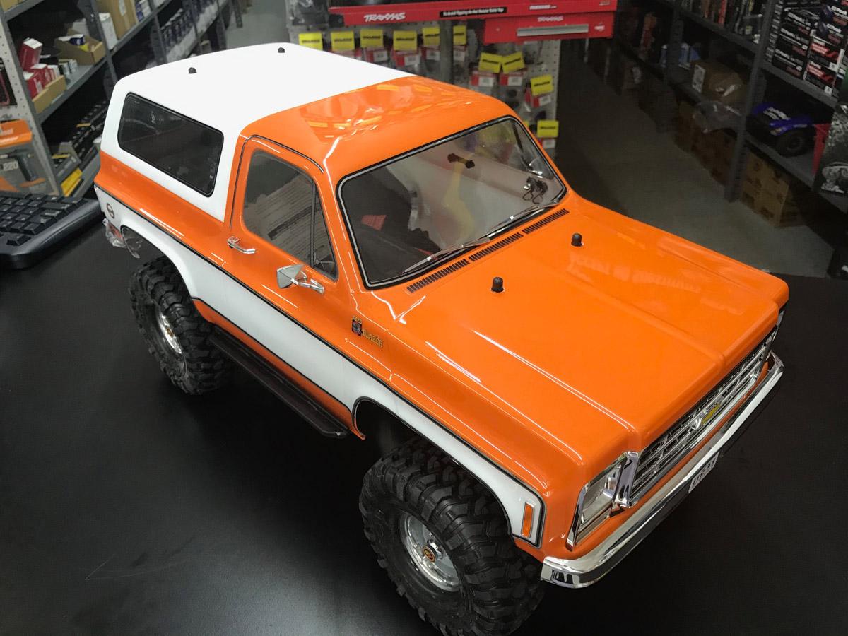 Chevy K5 Blazer Orange